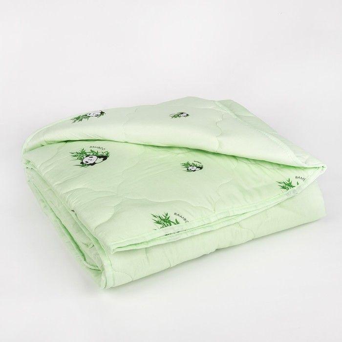 "Одеяло всесезонное Адамас ""Бамбук"", размер 140х205 ± 5 см, 300гр/м2, чехол п/э"