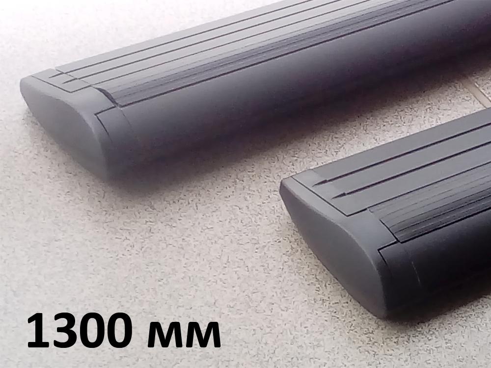 Дуги багажные, крыловидные 82 мм (аэро-трэвэл), черный цвет, Lux - 1300 мм, артикул 793327