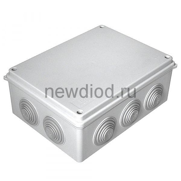 Коробка распределительная 40-0320 для о/п безгалогенная (HF) 200х150х75 (16шт/кор) Промрукав