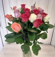 19 роз Микс (60 см)