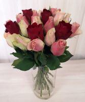 25 роз микс - Кения (40 см)