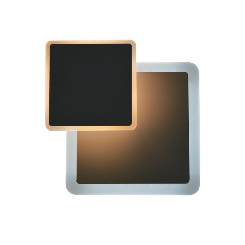 Cветильник cветодиодный бра Geometria square 12W S-185-WHITE-220-IP44