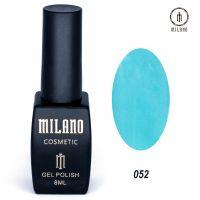 Гель-лак Milano Cosmetic №052, 8 мл