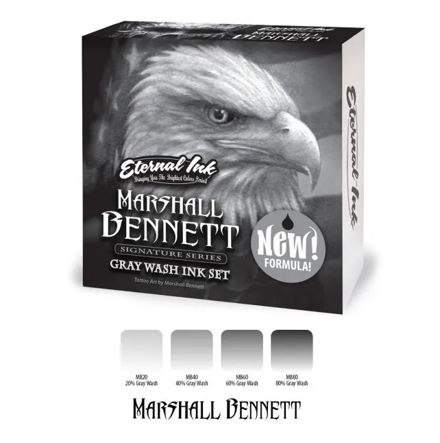 Marshall Bennett Gray Wash Set из 4