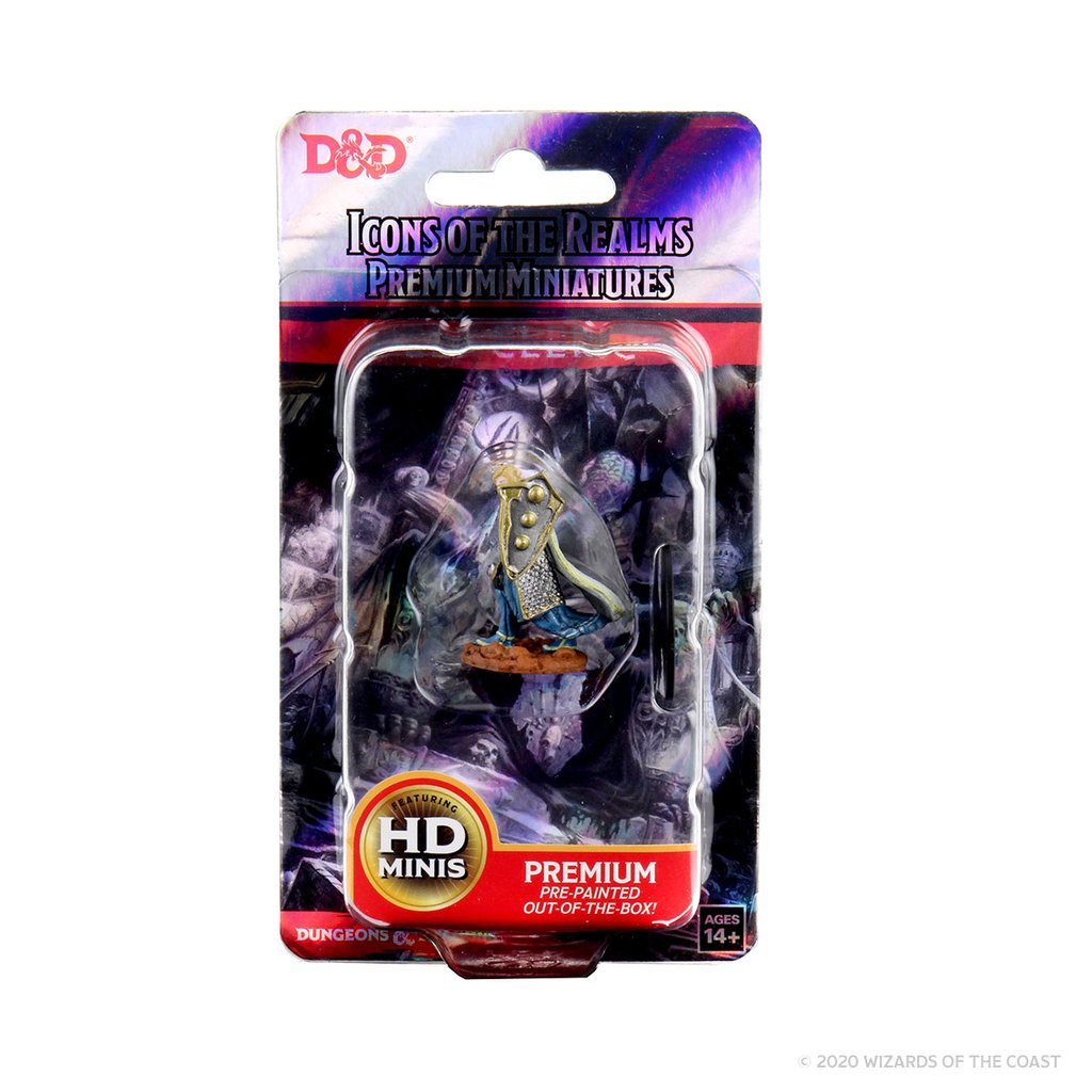 D&D Premium Miniatures: Elf Male Cleric