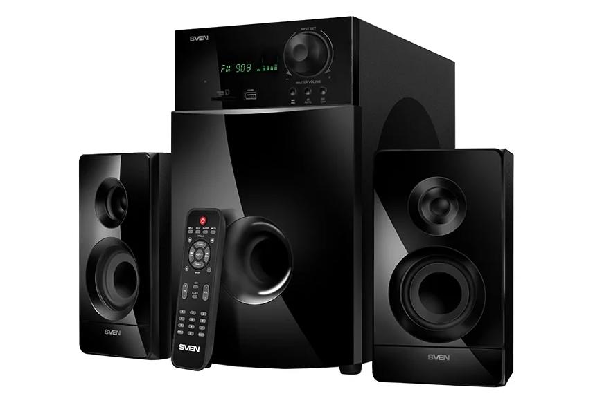 Компьютерная акустика SVEN MS-2100 Черная