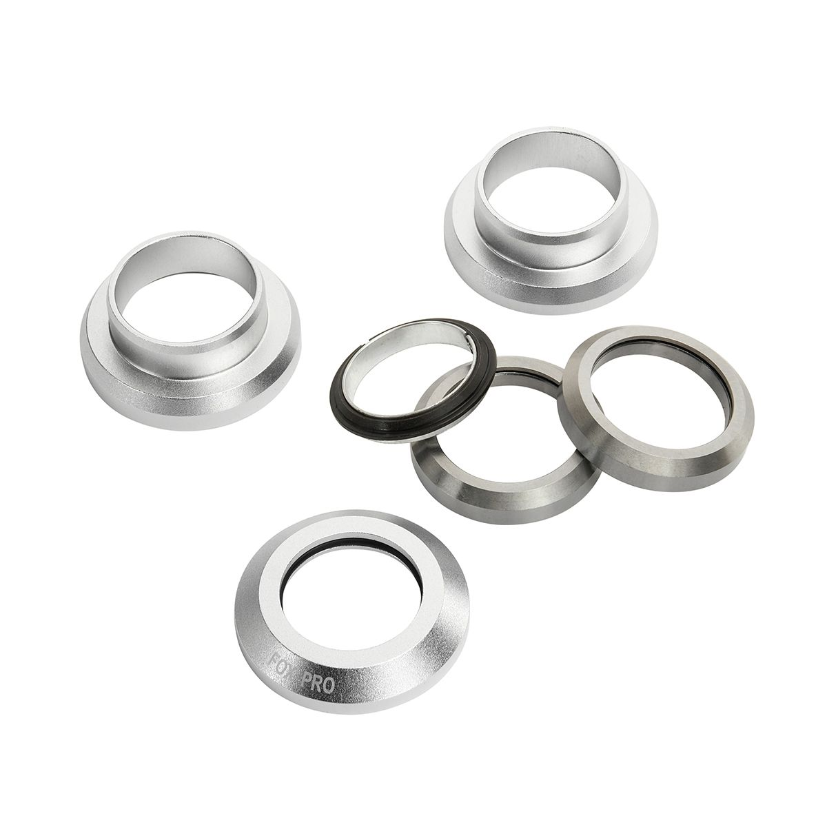 Рулевая колонка Fox стандарт 1 1/8 silver