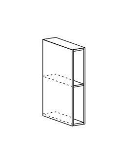 Шкаф верхний открытый Ксения ШВБ 150