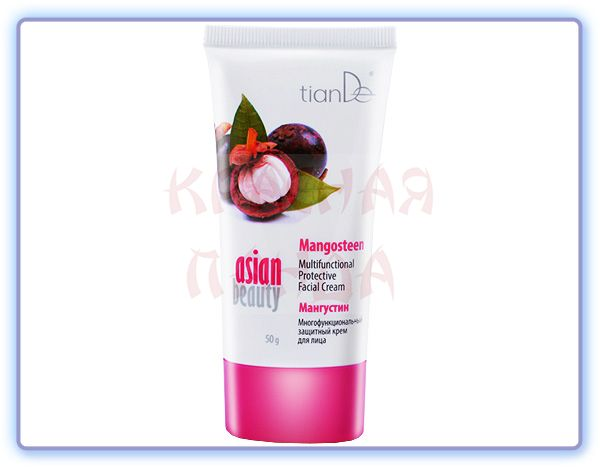 TianDe Многофункциональный защитный крем для лица Мангустин