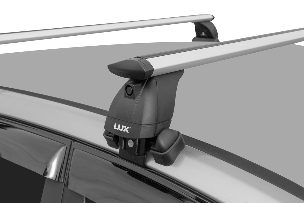 Багажник на крышу Subaru Legacy V sedan 2009-2014, Lux, крыловидные дуги
