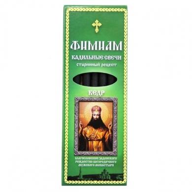Свечи кадильные Фимиам Тихон Задонский (кедр)