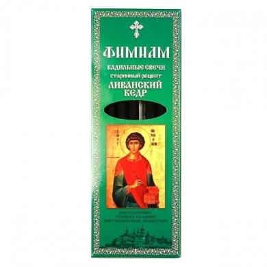 Свечи кадильные Фимиам Пантелеимон (кедр)