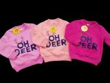 Детская кофта с начесом OH DEER оптом | 3 шт