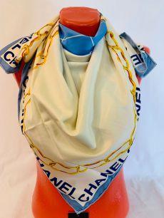 Шелковый платок Chanel, арт 113
