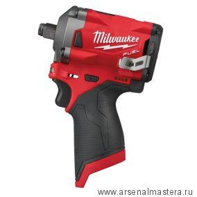 Аккумуляторный импульсный гайковерт MILWAUKEE M12 FIWF12-0 FUEL 4933464615