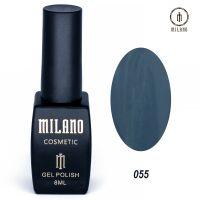 Гель-лак Milano Cosmetic №055, 8 мл