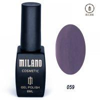 Гель-лак Milano Cosmetic №059, 8 мл