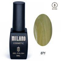 Гель-лак Milano Cosmetic №071, 8 мл