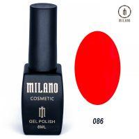 Гель-лак Milano Cosmetic №086, 8 мл