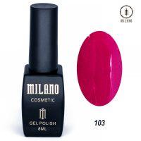 Гель-лак Milano Cosmetic №103, 8 мл