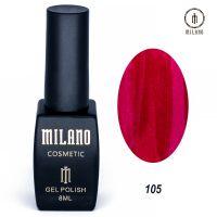 Гель-лак Milano Cosmetic №105, 8 мл