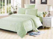 Комплект постельного белья Luxury modal  с вышивкой семейный Арт.41/007-ME