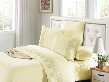 Комплект постельного белья Luxury LACE семейный  Арт.41/009-ML