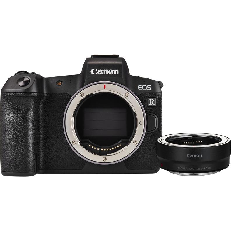 Canon EOS R Body + EF-EOS R адаптер