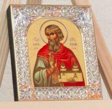 Икона Владислав Сербский (9х10,5см)