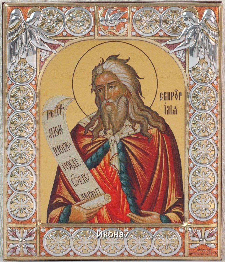 Икона Пророк Илия (9х10,5см)