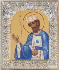 Икона Константин равноапостольный царь (9х10,5см)