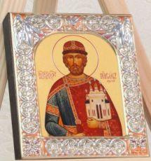 Икона Ярослав Мудрый (9х10,5см)