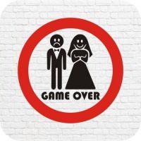 Game over wedding в векторе
