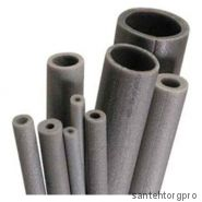Трубка вспененный полиэтилен НПЭ Т 60/9 L=2м серый Порилекс