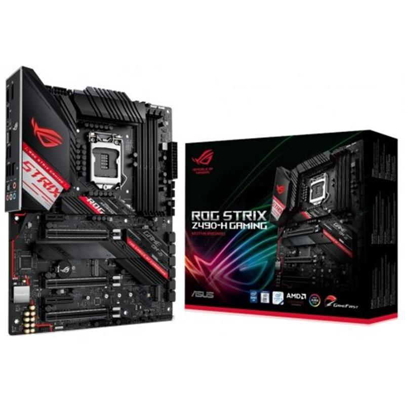 Материнская плата Asus ROG Strix Z490-H Gaming Socket 1200