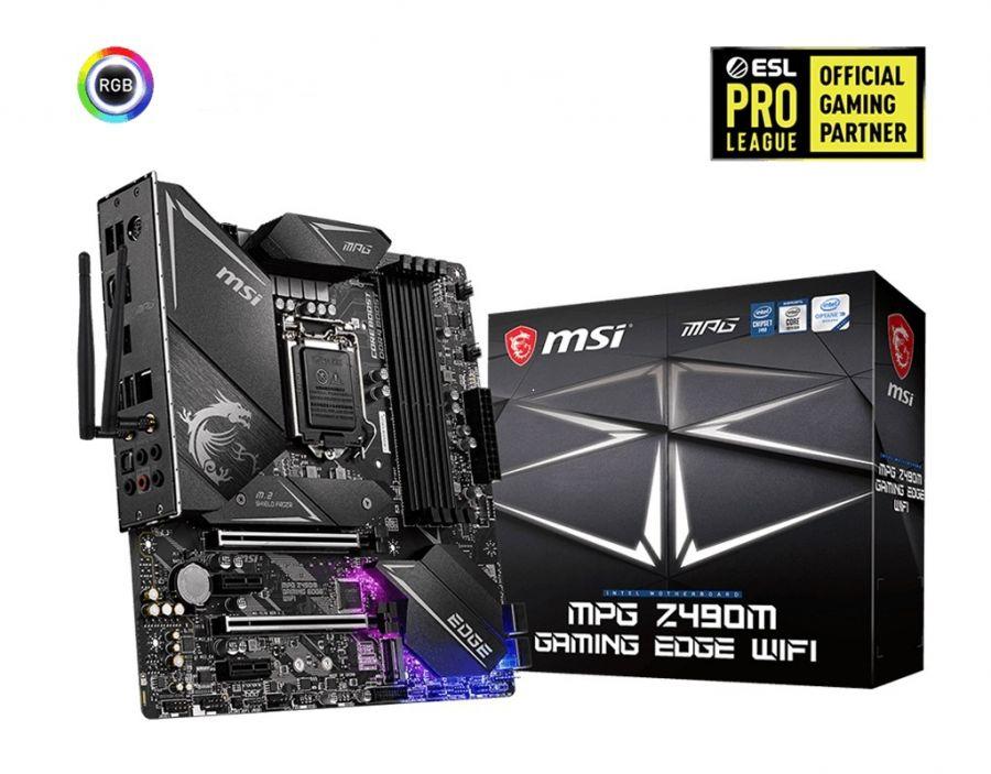 Материнская плата MSI MPG Z490M Gaming Edge WiFi Socket 1200