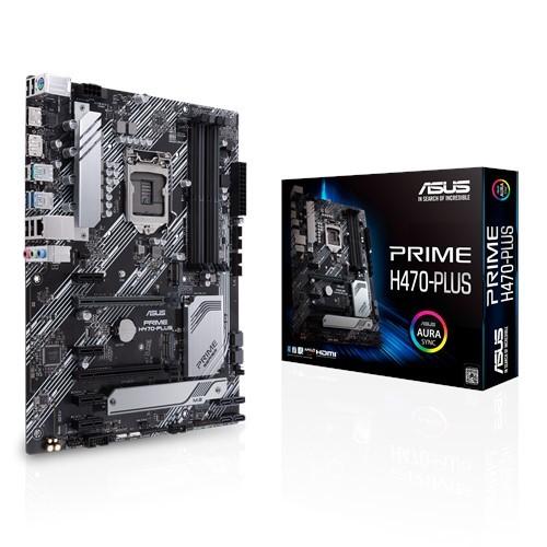 Материнская плата Asus Prime H470-Plus Socket 1200