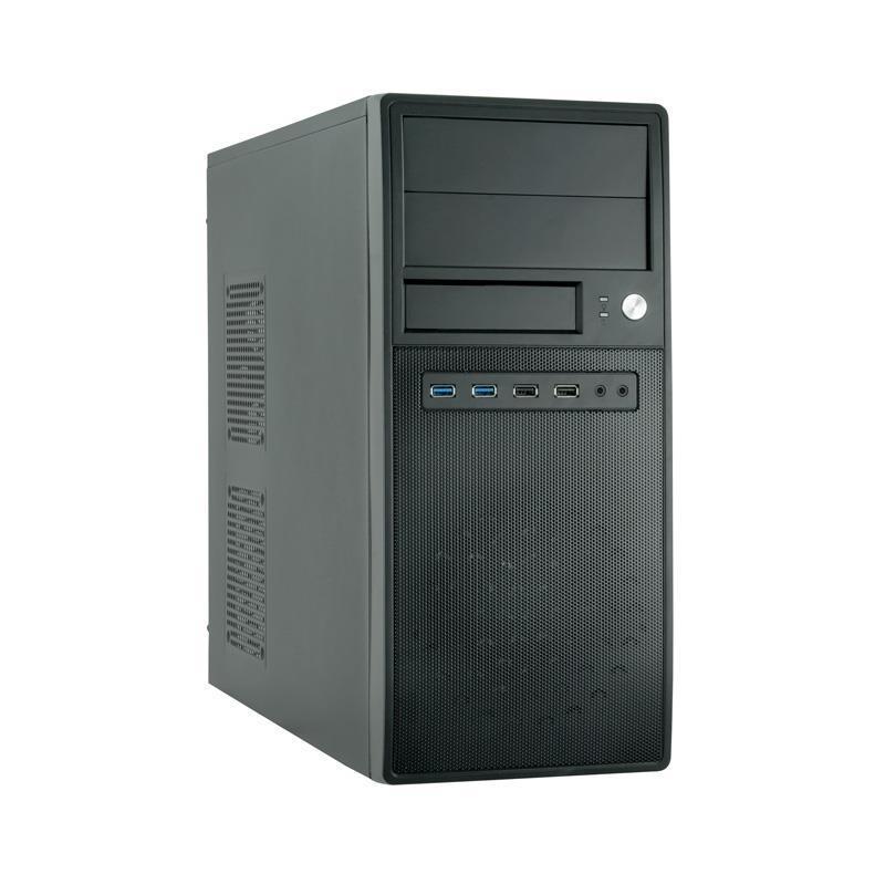 Корпус Chieftec Mesh CG-04B-OP без БП, 2xUSB3.0, 2xUSB2.0, Black