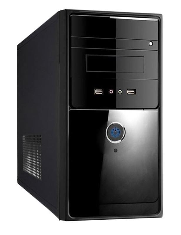 Корпус Delux MK260 Black 450W 12Fan