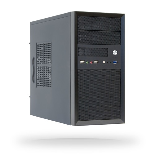 Корпус Chieftec Mesh CT-01B-500S8, 500W, 1x USB3.0, 2xUSB2.0, Black