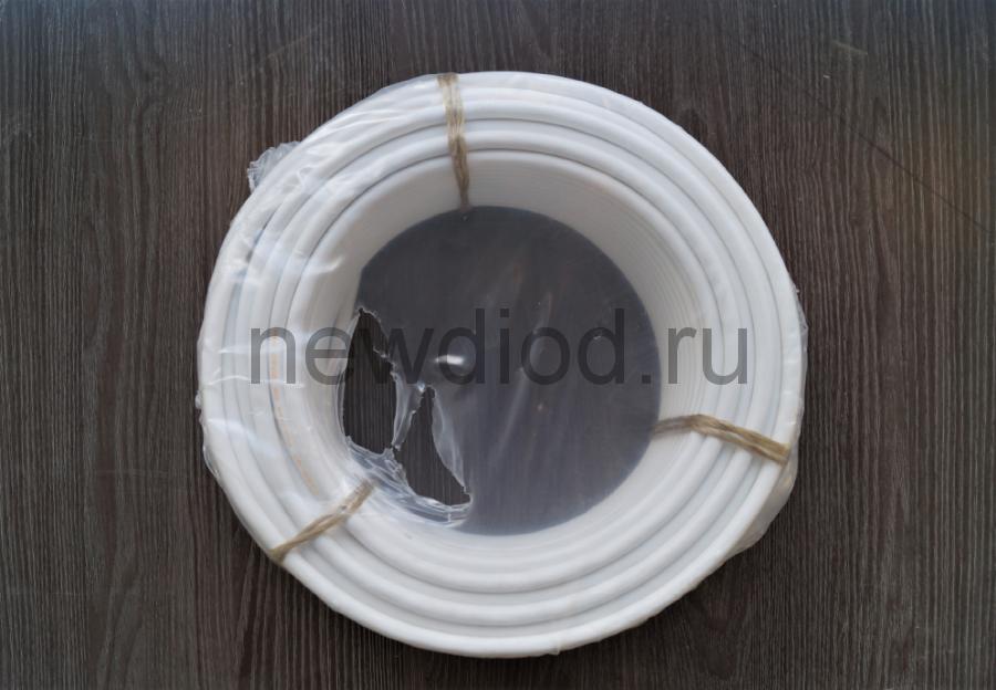 Кабель ПВС 3х1,5 (ГОСТ 7399-97) белый Бухта 20 м