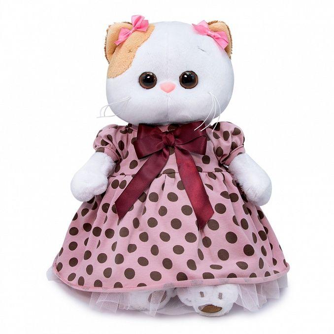 Ли-Ли Кошечка в розовом платье в горох
