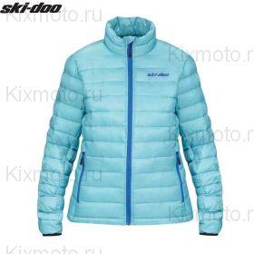 Куртка женская Ski-Doo Packable, Голубая мод. 2021