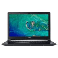 """Ноутбук Acer Aspire 7 A715-72G-53NU (NH.GXBEU.014); 15.6"""" FullHD (1920х1080) IPS LED глянцевый / Intel Core i5-8300H (2.3 - 4.0 ГГц) / RAM 16 ГБ / HDD 1 TБ / nVidia GeForce GTX1050, 4 ГБ / нет ОП / LAN / Wi-Fi / Bluetooth / веб-камера / Linux / 2.4 к"""