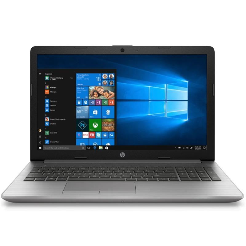 "Ноутбук HP 250 G7 (7QK46ES); 15.6"" FullHD (1920x1080) TN LED матовый / Intel Core i3-7020U (2.3 ГГц) / RAM 4 ГБ / SSD 128 ГБ / Intel HD Graphics 620 / DVD±RW / LAN / BT / Wi-Fi / веб-камера / Windows 10 Home / 1.78 кг / серебристый"
