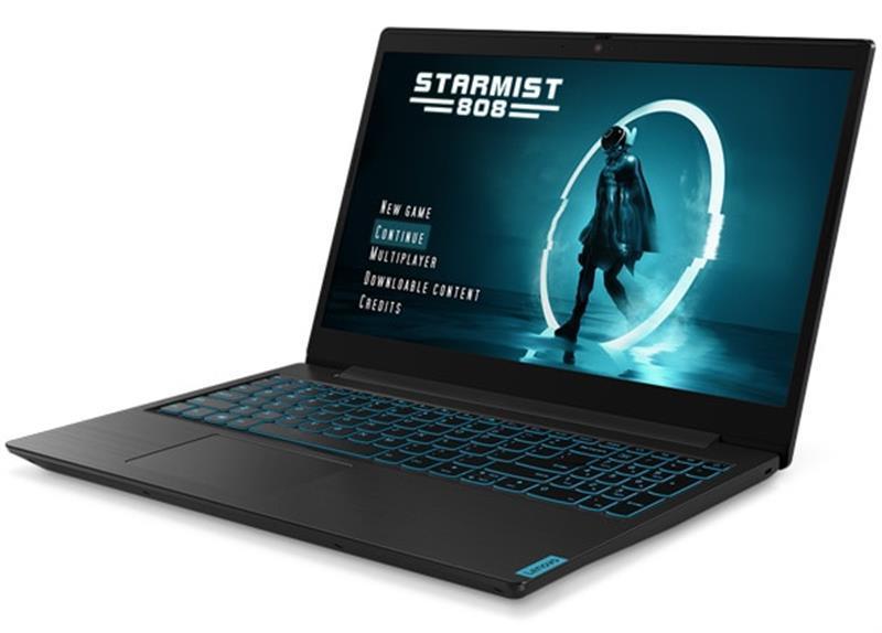 "Ноутбук Lenovo Ideapad L340-15IRH Gaming (81LK01JXRA); 15.6"" FullHD (1920x1080) IPS LED матовый / Intel Core i5-9300H (2.4 - 4.1 ГГц) / RAM 8 ГБ / HDD 1 ТБ + SSD 256 ГБ / nVidia GeForce GTX1650, 4 ГБ / нет ОП / LAN / Wi-Fi / Bluetooth / веб-камера /"