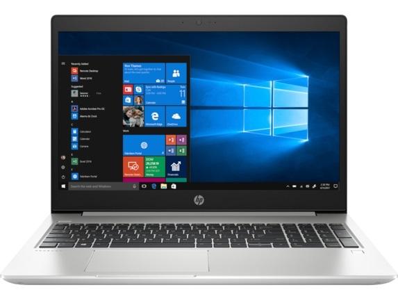 "Ноутбук HP ProBook 450 G6 (4TC94AV_V14); 15.6"" FullHD (1920х1080) IPS LED глянцевый антибликовый / Intel Core i7-8565U (1.8 - 4.6 ГГц) / RAM 8 ГБ / SSD 256 ГБ / nVidia GeForce MX130, 2 ГБ / нет ОП / LAN / Wi-Fi / BT / веб-камера / DOS / 2.0 кг / сере"