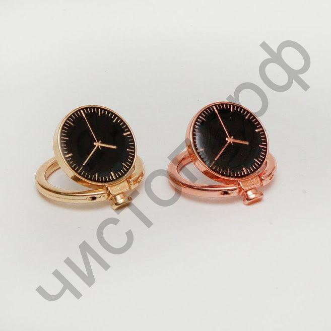 Держатель-кольцо и подставка для телефона  часы