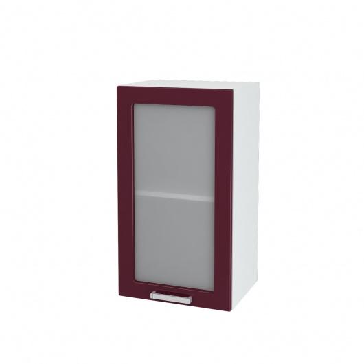 Шкаф верхний со стеклом Глория ШВС 400