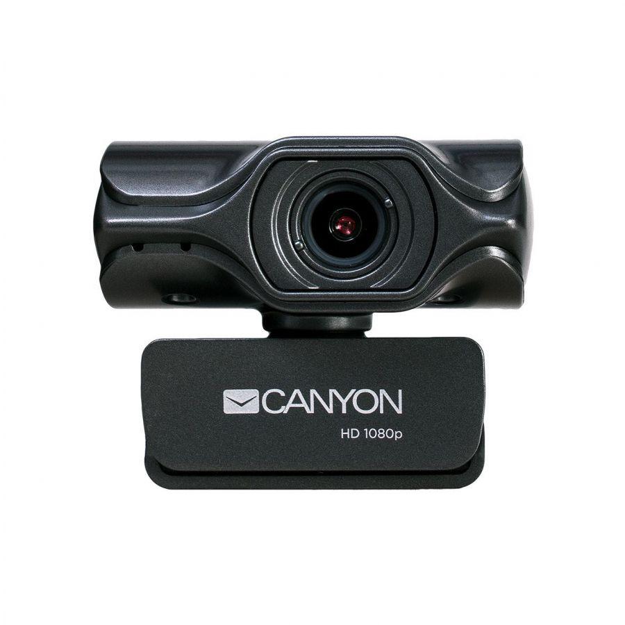 Веб-камера Canyon CNS-CWC6N Black/Grey